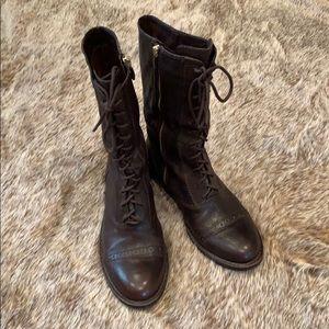 Vince Canute combat boots